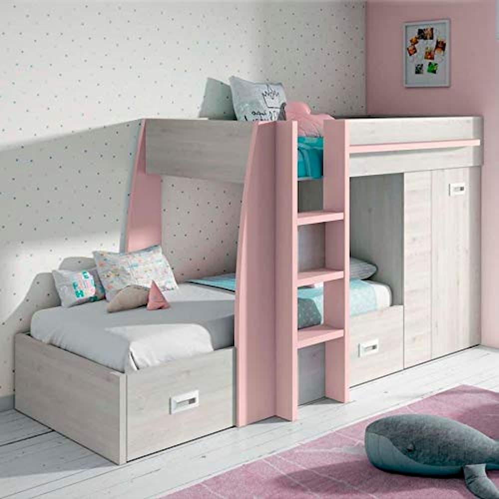 Literas tren. Dormitorios tren infantiles